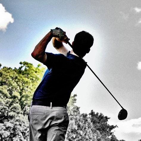 Codo de golf - Carlos López Cubas